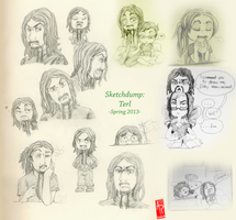 Sketchdump: Terl by Wuselig