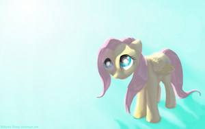 Fluttershy Wallpaper by MohawkMax