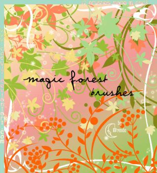 Magic Forest Brushes by Coby17