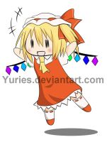 Flandre-chan by Yuries