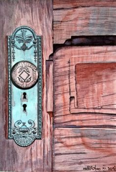 Old wooden doors by m-AES-tro