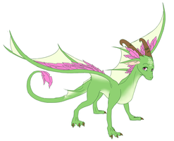Dragon Sona by hannahspangler