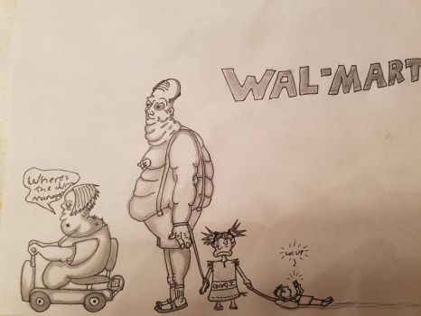 WAL-MART 'accurate.' by RainforestHillbilly