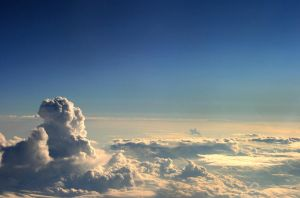 Clouds by mfish-art
