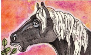 ACEO-clopina by Levn