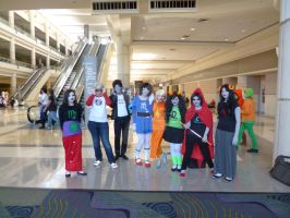 Me With Even More Homestuck Cosplayers by TheLoveOfNayru