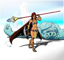 Red Sonja by Wrale