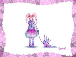 Pink and Frilly by Lithe-Fider