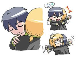 Hug - a request from my friend by ocarina-CD