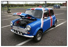 60's Mini Cooper by ashleytheHUNTER