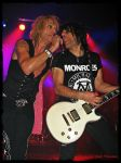 Michael Monroe and Steve Conte by Juibe