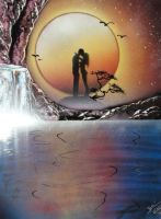 Dream Couple Photopaper by RiensArtwork