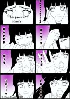 The faces of Hinata by Photo-Freak7
