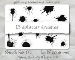 Photoshop brush set 001 by kiteflier