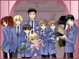 Ouran Group Wallpaper by HostClub