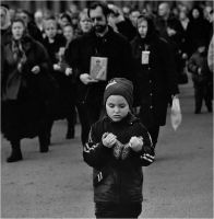 Boy  ---Religious procession by LonelyPierot