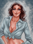 Lynda Carter by Harpyqueen by Chaosfive-55