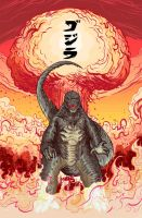 Legendary Godzilla! by MatthewPetz