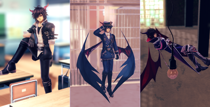 [MMD] Aura Kingdom Alucards by Horiew