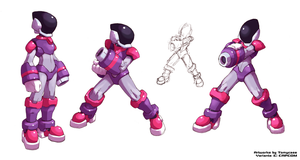Variant Hunter - Rockman Zero 4 by Tomycase