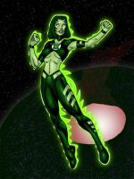 Green Lantern: Kraken by north-green