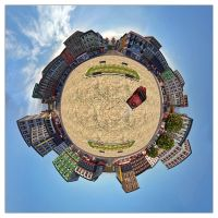 Chinatown Little Planet by Wordup