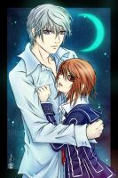 Vampire Knight : Yuki and Zero by Clange-kaze