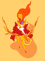 Flame Princess Mars by ScrapCity