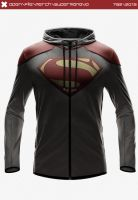 Superman EVO Hoodie by seventhirtytwo