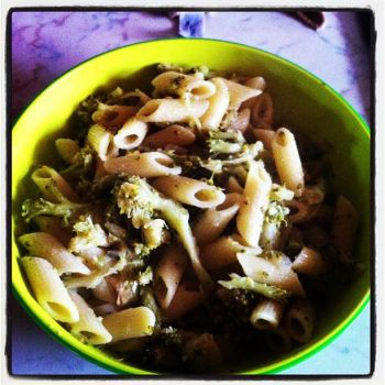 pasta with broccoli by Briel74