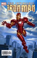 Iron Man Cover by R-Valle