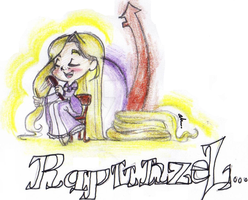 Rapunzel by chocolatevampire217