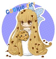 Chibi Cookie Girl by YamPuff