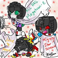 StarScream N Blankets 4 Yamy by JinoSan