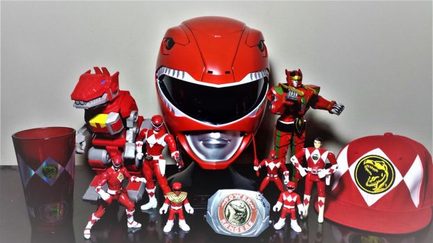 ULTIMATEcollection: My Red Ranger Collection Pic 2 by ULTIMATEbudokai3