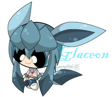 Puff style: Glaceon by snowflake95