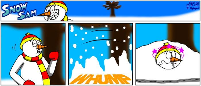 Snow Sam Comic 101 by BluebottleFlyer