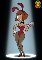 Bunny Girl Maddie for BG jam by DLToon