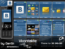 Vkontakte - Theme for SE by DanSti