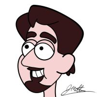 Me, in Gravity Falls style. by jerseycajun