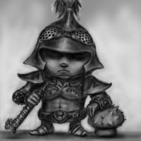 LoL - Dreadknight Teemo by Shenky