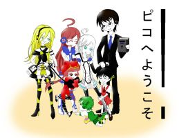 Vocaloid Family by wanistarz