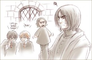 Let's Bother Snape : PPP by yukipon