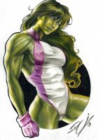 RC_SHE_HULK_COLORED_PENCIL_2 by renatocamilo
