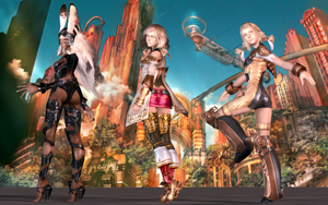 Female Fantasy XII by PhilipMessina