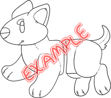Cakepup Plushie YCH by guIIs