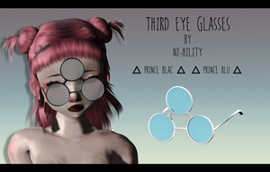 Third Eye Glasses [ DL ] 1000 watchers gift pt. 2 by ni-hility