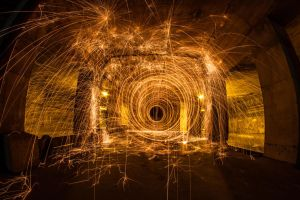 Tunnel Spin 1 by 904PhotoPhactory
