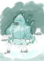 Frozen Golem-- REGICE by Randomdude99
