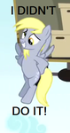 Derpy Didn't Do It by Awkward-Sword